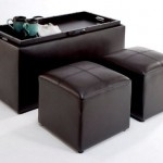 Store Your Items Inside Your Stylish Sheridan Faux Leather Storage Bench