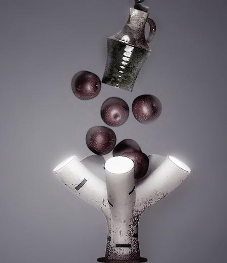 Shine Birch Lamp Concept