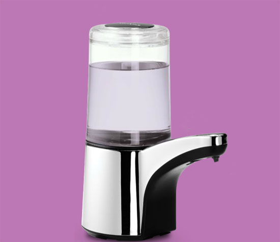 Simple Human Touch-free Spout Sensor Pump