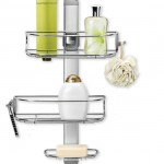 Add Beauty To Your Shower Interior With The Simplehuman Adjustable Shower Caddy