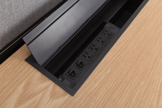 MINIM RISE SIT|STAND Workstation by UHURU Contract