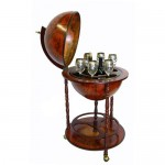 Create A Rustic Ambiance In Your Home With Your Unique Sixteenth-Century Italian Replica Old World Globe Bar