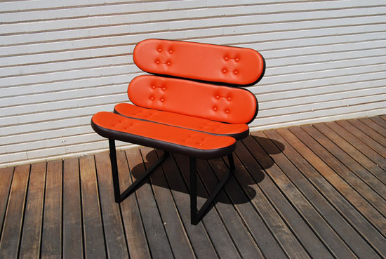 Skate-Home Skateboard Furniture