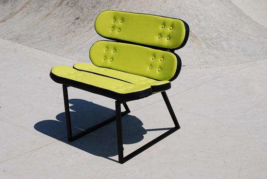 Skate-Home Skateboard Furniture