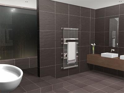 skope glacia towel warmer for luxury bathroom
