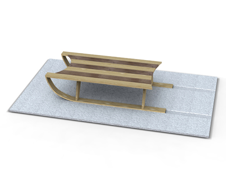 Sled Coffee Table
