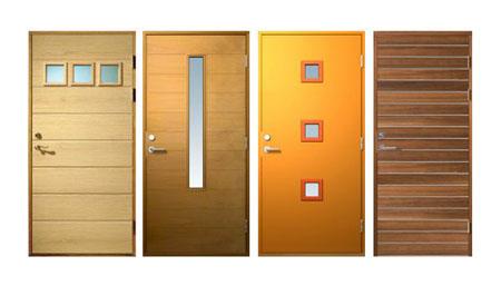 snickarner contemporary colorful door
