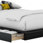 Complete Your Modern Bedroom Design With The South Shore Step One Collection Storage Platform Bed
