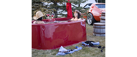 SpaBerry Portable Hot Tub