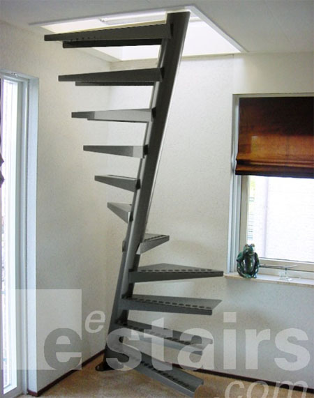 Space saving staircases modern home decor - Space saving stair design ...