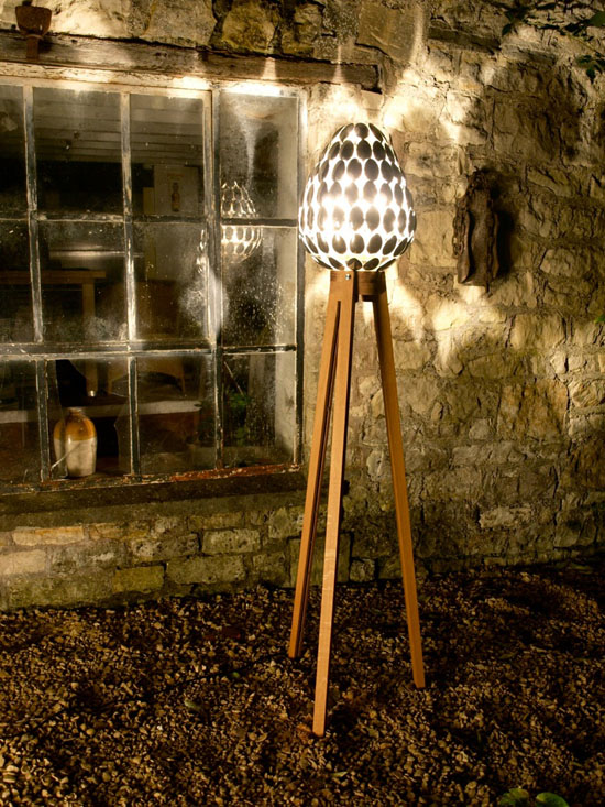 Spoon Lamp by Clive Roddy