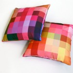 Squaring of the Circle: A Colorful Unique Cushion Collection
