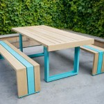 SR White Oak Table Set: For Your Stylish Picnic Experience