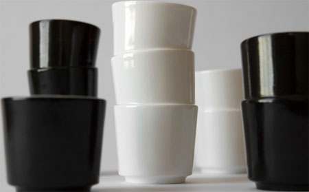 Stacked Cups