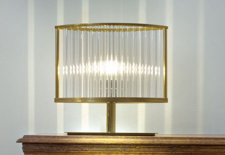 Stilio Tischleuchete Messing Lamp