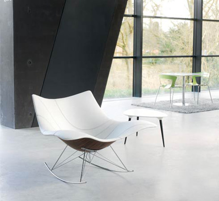 stingray modern rocking chair