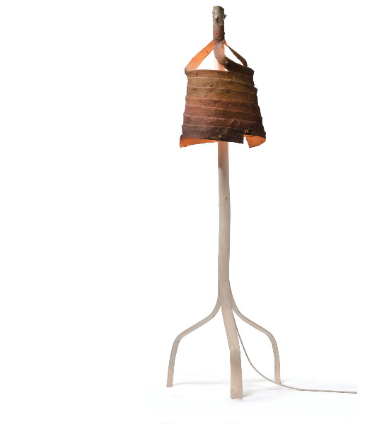Stripped Standing Lamp