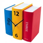 Enjoy Time As It Passes Staring At Your Colorful Table Clock Book