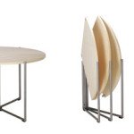 Ligne Roset Folding Tables by Nils Fredeking
