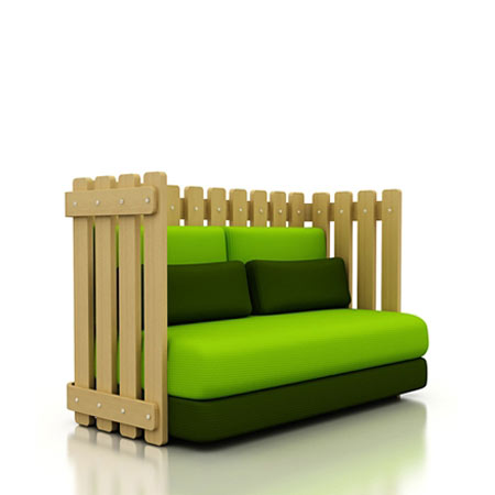 the grass is always greener on the other side of the fence sofa