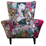 Tokidoki Singapore Wingchair Will be Your Artistic Furntiure At home