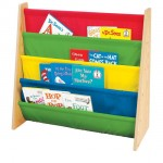 Give Colors To Your Kids' Room With The Tot Tutors Book Rack In Primary Colors