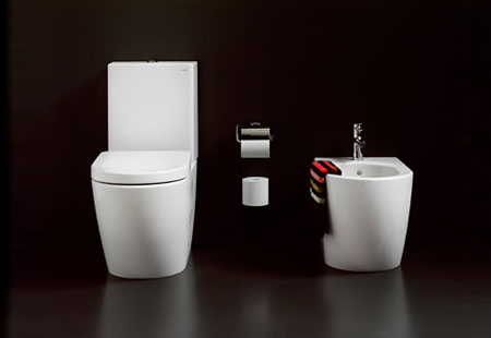 NC Series Pedestal Toilet From Toto Modern Home Decor - Toto bathroom