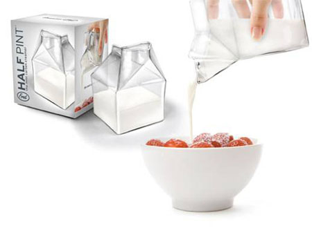 Transparent Milk Box