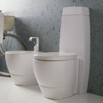 Contemporary Tratto Bathrom from Disegno Ceramica