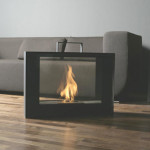 Travelmate Portable Ventless Fireplace by Studio Vertijet