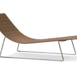 Trenza Chaise Lounge From Andreu World