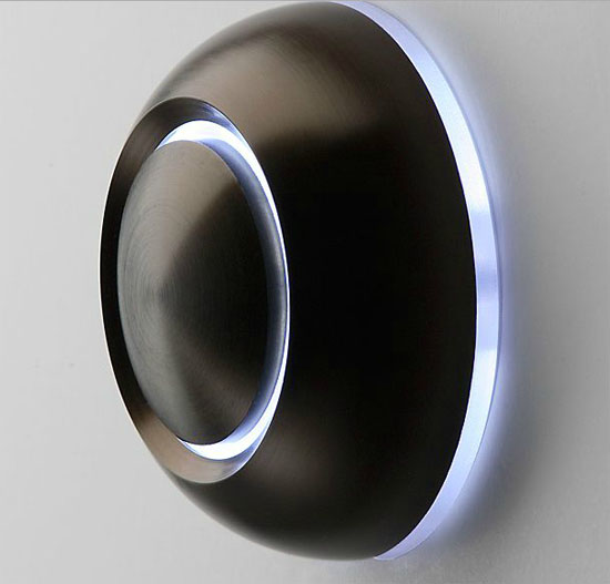 True Illuminated Doorbell Button by Spore