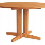 Turner Round Dining Table: A Simple Yet Elegant Dining Furniture