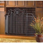 Keep Your Fireplace Safe At All Times With The Tuscan Design Home Fireplace Mesh Screen