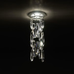 Turns Suspension Lamp From Swarovski