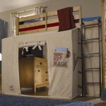 Twin Loft Bed With Canopy: The Bed You And Your Kids Would Love To Have