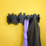 Umbra Sticks Wall-Mount Rack Decorates While Keeping Your Place Tidy