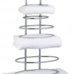 Storing Your Bathroom Towels Can Now Be Stylish And Elegant With The USE Ollipsis Towel Stack Rack