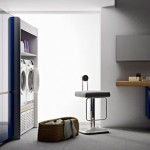 Valcucine Laundry Shelf: Keeps Your Laundry In Order And Your Laundry Area In Style