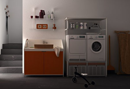 Valcucine laundry your helpful home laundry modern home - Valcucine laundry ...