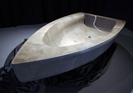 vascabarca boat shaped bathtub