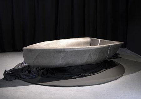 vascabarca boat shaped bathtub