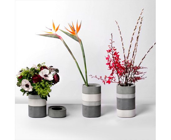 Vase Konkurito Is Your Bento Inspire Flower Vases Modern