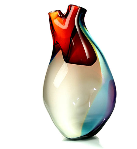The Ventricle Vase: A Stylish Human Heart-shaped Glass Vase ...