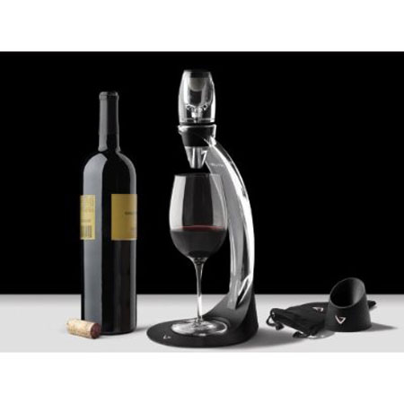 Enjoy Aerated Wine With The Stylish Venturi Wine Aerator