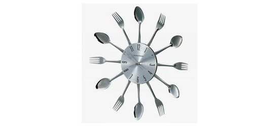 Verichon Metal Fork And Spoon Clock