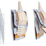 Universal Vertical Filing Rack: Keeping Your Files In A Contemporary Style
