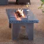 Enjoy Warm Ambiance Outdoor With Vesta Fire Table
