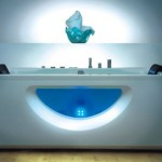 Glowing Eris Bathtub from Victory Spa