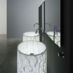 Modern Vision Washbasin and Arne Bathtub from Rapsel